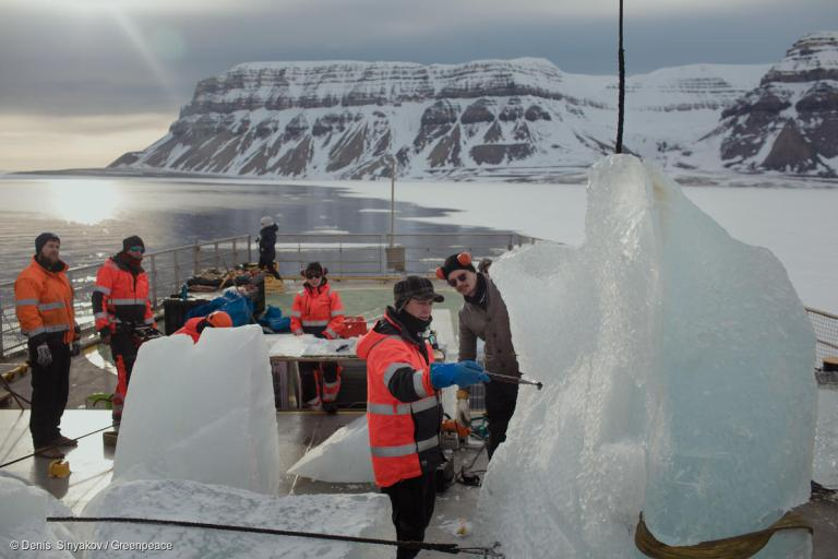 Protect the Oceans - Ice Concert Preparations